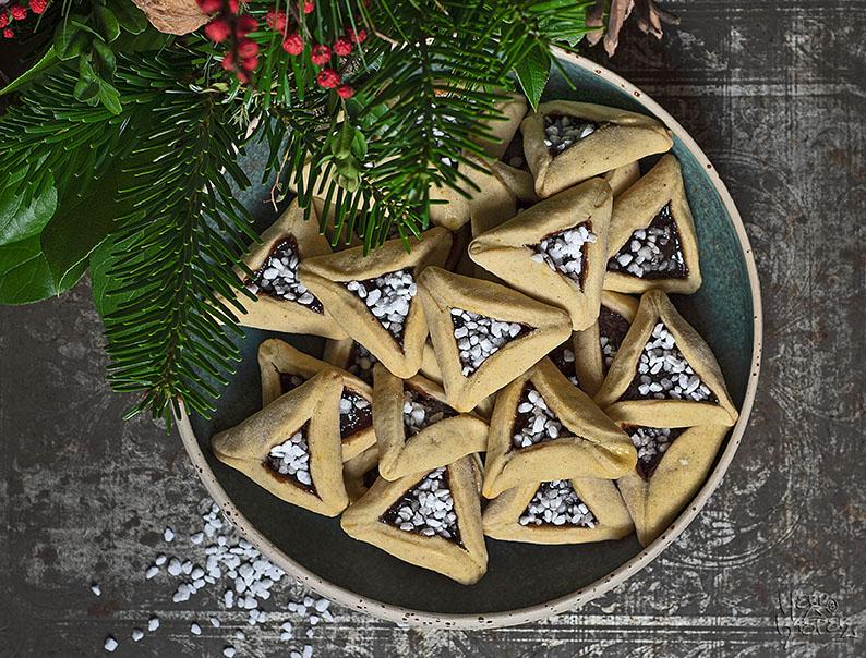 Gut gelungen: Odenwälder Dreispitz, ein traditionelles Weihnachtsgebäck mit Kartoffelteig.
