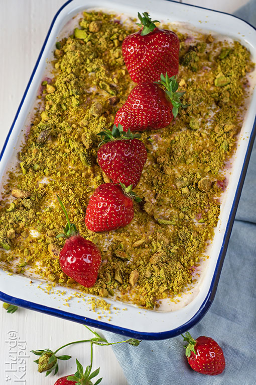 Erdbeer-Tiramisu ohne Ei