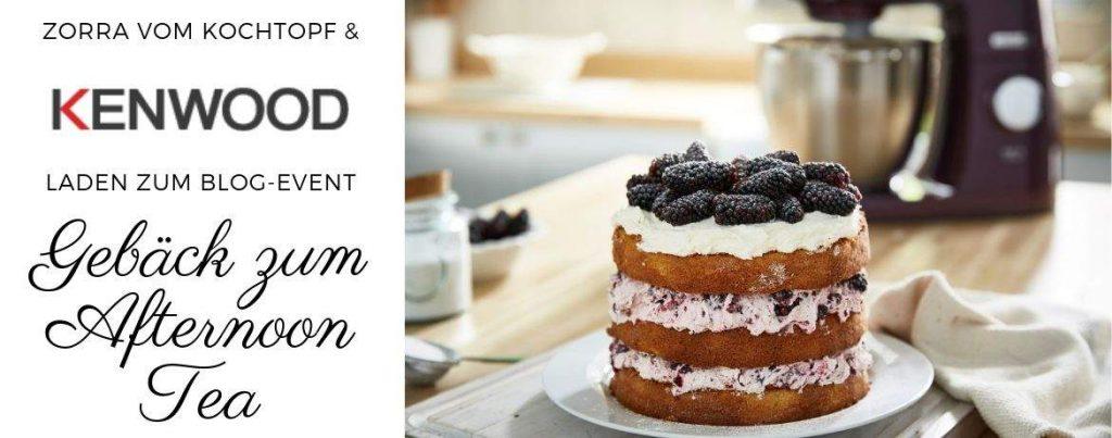 "Blog-Event ""Gebäck zum Afternoon Tea"""