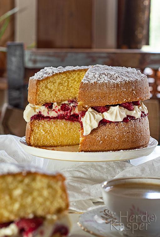 Süße Sünde: Victoria Sandwich Cake.