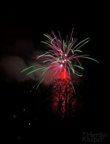 Feuerwerk auf dem Tannenbuckel, 27. Dezember 2019