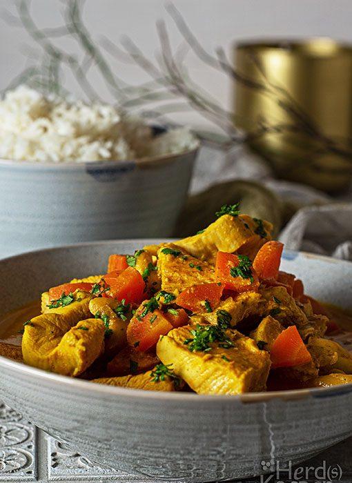 Murgh Makhani, auch Indisches Butterhuhn genannt