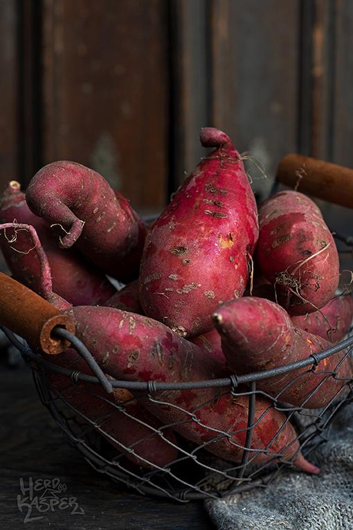 Süßkartoffeln aus dem heimischen Garten